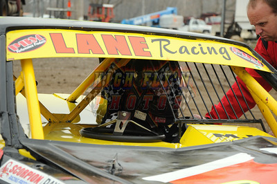 3-30-2013 Street Stocks Valley Speedway Practice Day
