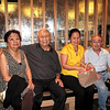 From left; Daday and husband Oliver Malana, Charito Duenas-Kuhrt, Andre' Salvador.