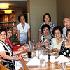 From left; Cecilia Carreon-Stephenson, Marilou Mercado-Chibbers, Ted Chibbers, Ampy Tercias, Julie Camahalan-Jacoby, Juliet Mercado (behind Julie), Rose Coenen, Andre' salvador, Ner Marucut.