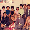 This was a party held in our apartment. At the front row from left; Danny Jubilo, Eli Marucut, and Andre' Salvador. Second row, from left are; Unknown, May Guazon, Unknown, Violy Manalang, Baby Bondoc, Lulu Carreon, Rey Tuazon,Paul Cordero, and Ner Marucut.