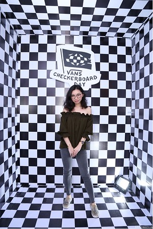 VANS | CheckerBoard Day @ Aeon Mall Binh Tan instant print photo booth in Saigon | Chụp ảnh in hình lấy liền tại TP. Hồ Chí Minh | Photobooth Saigon