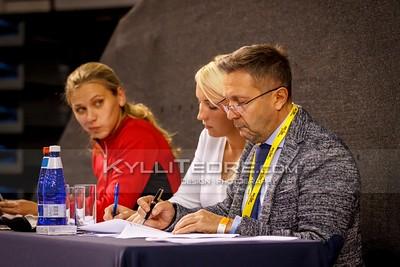 Piret Tuiken, Tiina Kuusmann, Yuri Romanov (RUS) @ Tallinn International Horse Show 2015  © Author: Kylli Tedre / www.kyllitedre.com