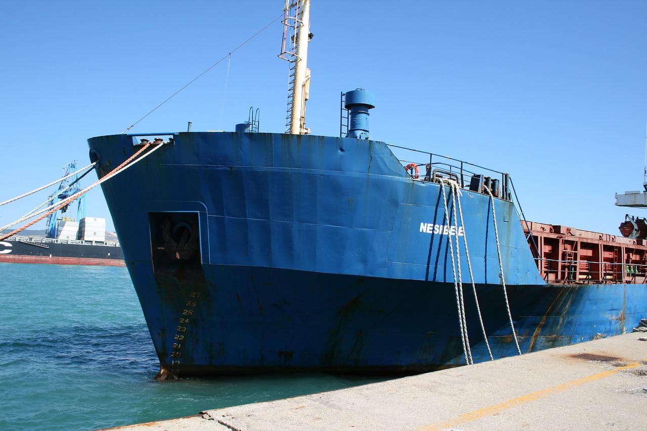 2011 - M/S NESIBE E laid up in Civitavecchia.