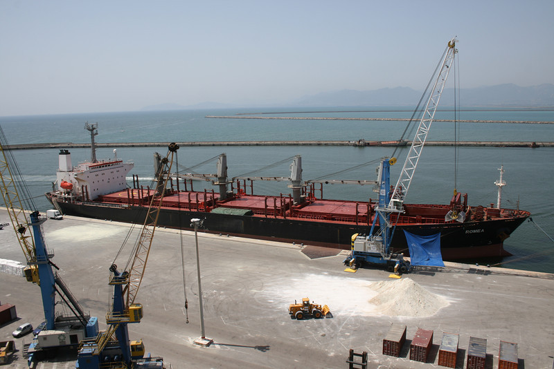 2010 - M/S ROMEA freighting in Cagliari.