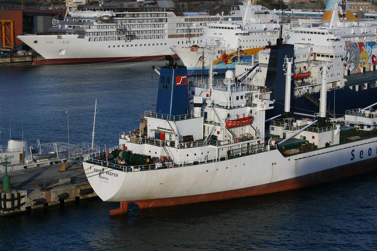 2009 - M/S ROYAL REEFER in Genova.