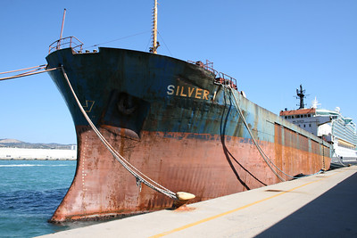 2011 - M/S SILVER I laid up in Civitavecchia, waiting for scrap.