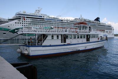 2008 - M/V SOTIRAQIS I in Corfu, tours to Albania.