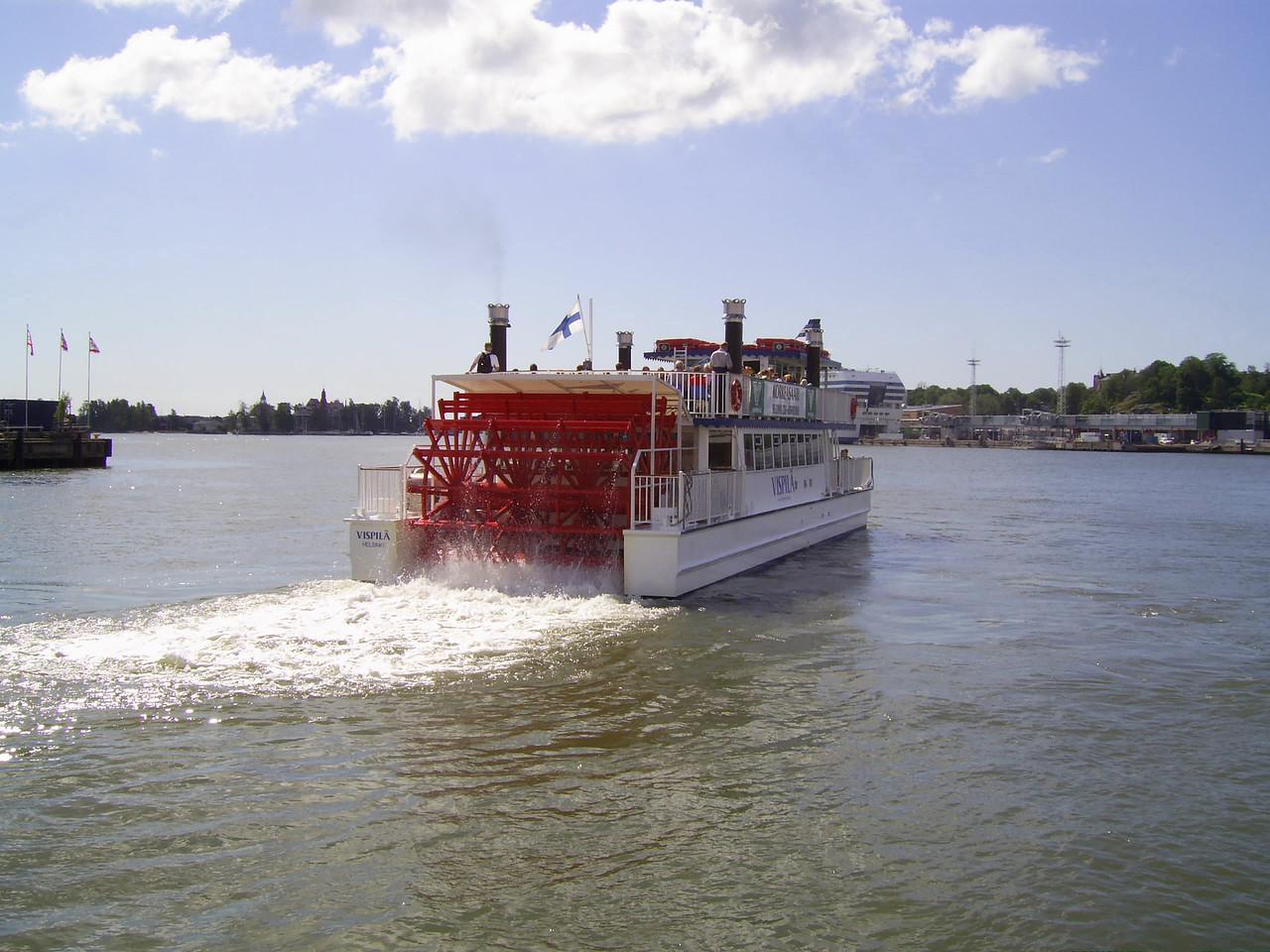 2007 - M/V VISPILÄ : service from Helsinki to Korkeasaari Zoo Island.