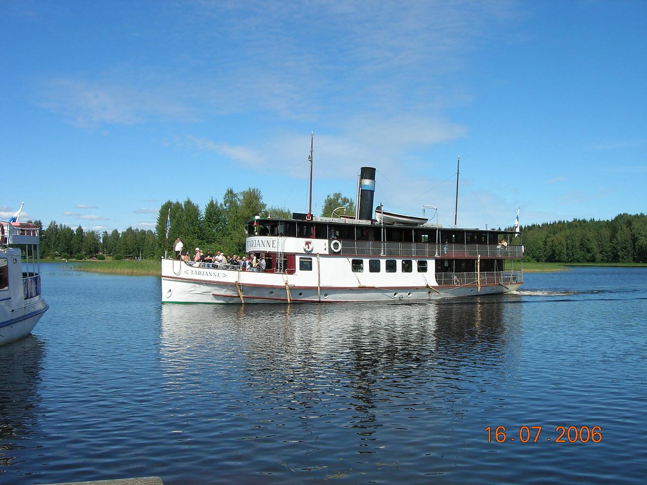 2006 - S/S TARJANNE : river route Tampere - Ruovesi - Virrat (in Finland)