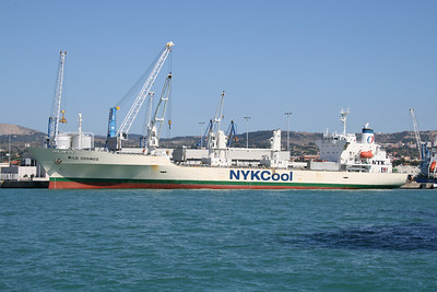 2011 - M/S WILD COSMOS loading in Civitavecchia.