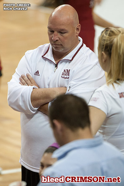 Head coach Mike Jordan