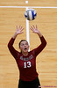 New Mexico State setter Alexsa Parker (13)