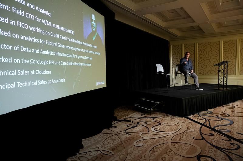 #VBTransform @VentureBeat Victor Ghadban, Field CTO, AI/ML, BlueData