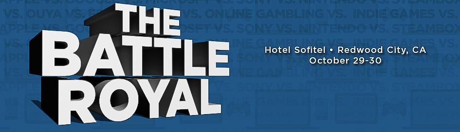 2013 VB GamesBeat The Battle Royal VentureBeat