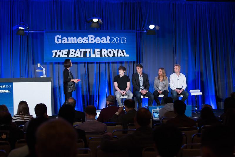 GamesBeat The Battle Royal VentureBeat #GamesBeat2013