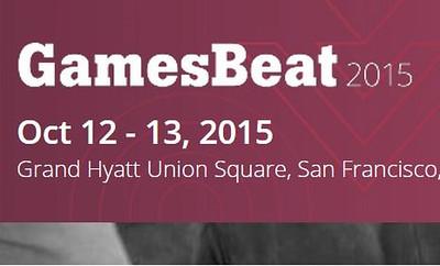 2015 VB GamesBeat 2015 VentureBeat