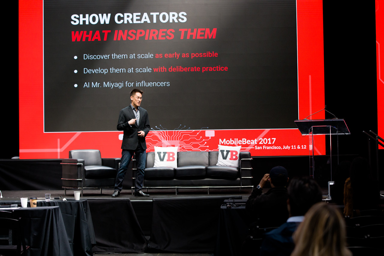 """#MB2017 @VentureBeat @hansku """"A Million Influencers: the Next Wave of Disruption in Video"""" with Hans Ku, Chief Product Officer, Flipagram and Rex Lin, Head of Product, Flipagram"""