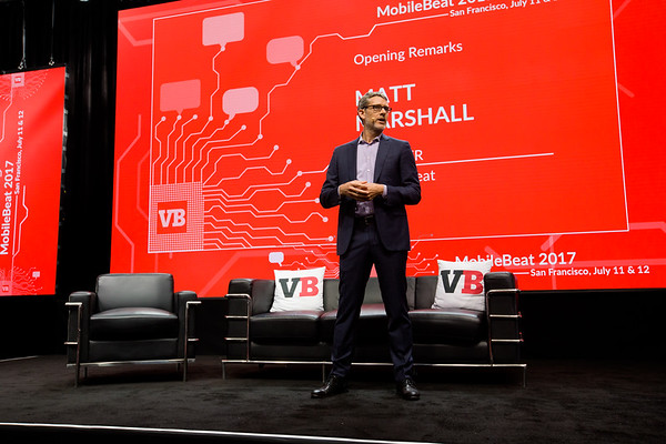 #MB2017 @VentureBeat @Mmarshall Opening remarks with VentureBeat CEO Matt Marshall