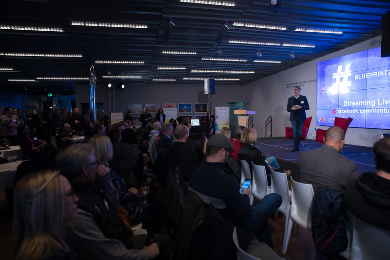 "Venturebeat #Blueprint2018,@VentureBeat Blueprint is a unique event in Reno, NV March 5-7 where over 300 large tech companies, entrepreneurs and economic development folks will come together to accelerate tech prosperity in areas typically seen as ""Flyover Country."""
