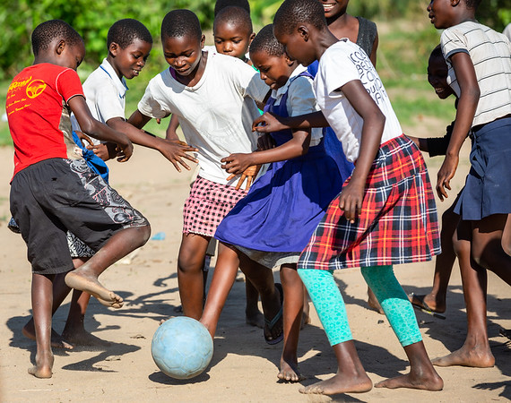 Boys vs Girls.  For the first time, girls teams are required for each boys team.  For the schools we support, the girs must be given just as many opportunities to succede as the boys.