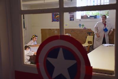 Captain America Door