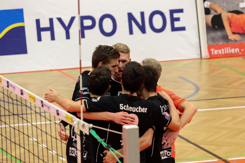DenizBank AG Austrian Volley League Men 2017/18 SG VCA Amstetten NÖ/hotVolleys vs VBC TLC Weiz