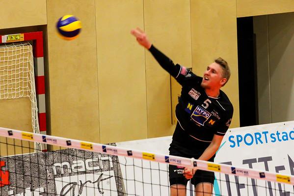 DenizBank AG Volley League Men 2017/18 SG VCA Amstetten NÖ/hotVolleys vs UVC Holding Graz