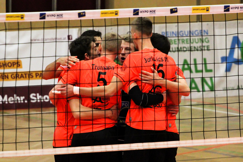DenizBank AG Volley League Men 2017/18 SG VCA Amstetten NÖ/hotVolleys vs VBC TLC Weiz