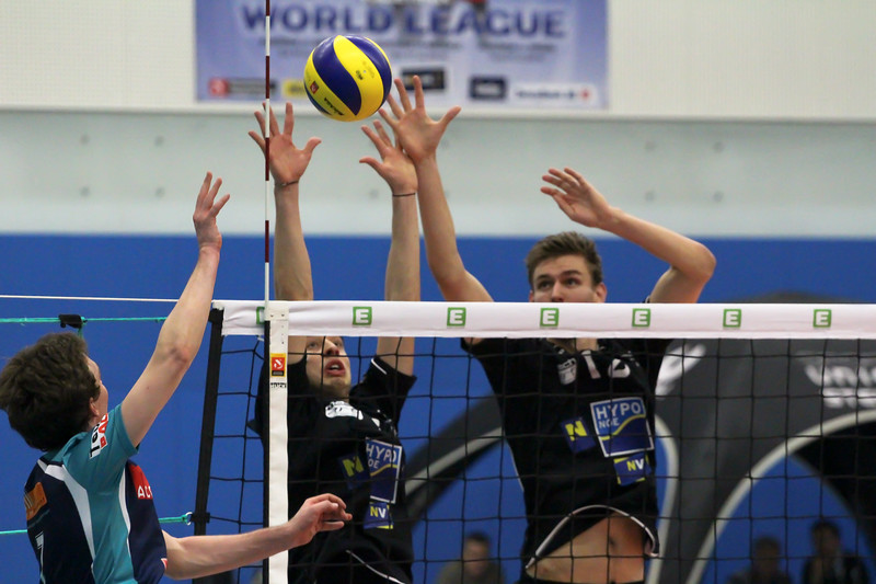 Austrian Volley Cup 2017/18 - Halbfinale - SG VCA Amstetten NÖ/hotVolleys vs. VC Mils
