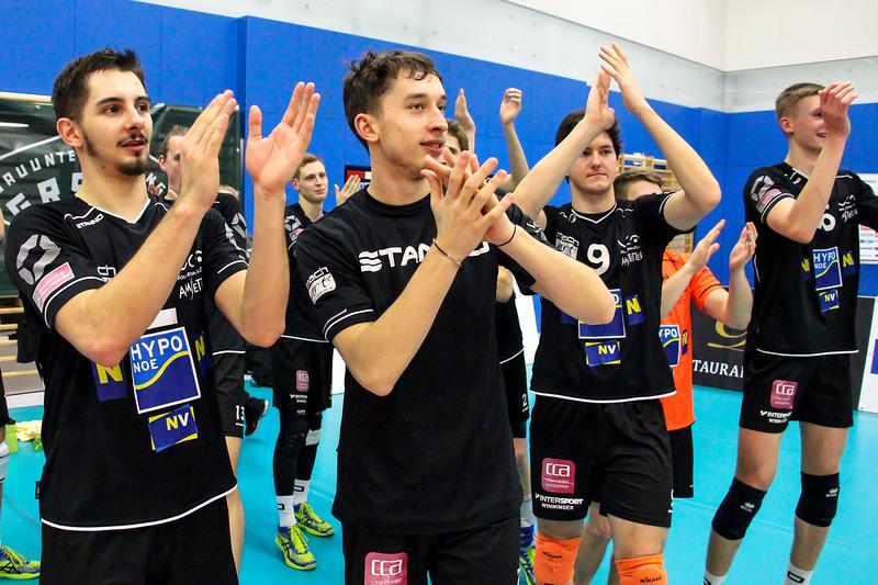 Austrian Volley Cup 2017/18 - Halbfinale - SG VCA Amstetten NÖ/hotVolleys - VC Mils