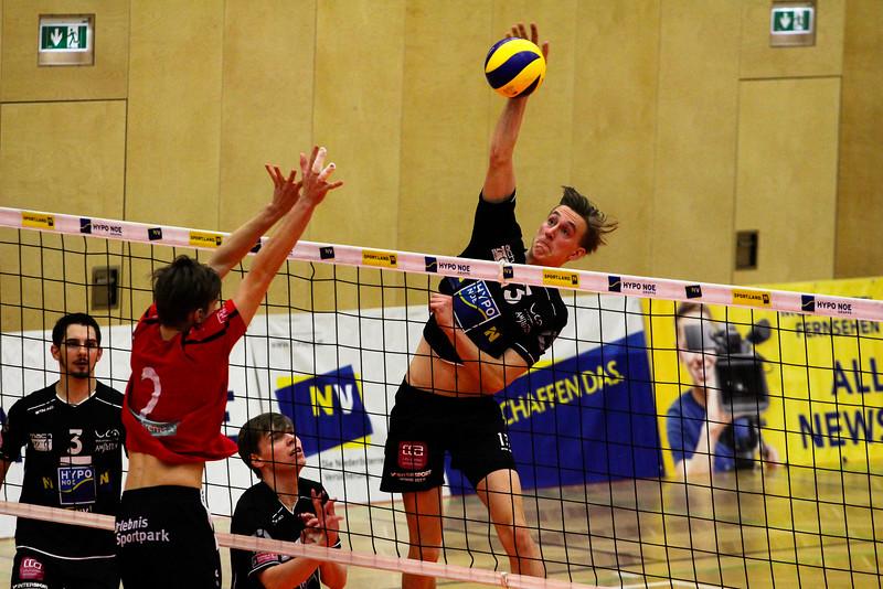 DenizBank AG Volley League Men 2017/18 SG VCA Amstetten NÖ/hotVolleys - VBK Wörther-See-Löwen Klagenfurt