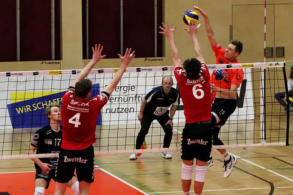 DenizBank AG Volley League Men 2017/18 SG VCA Amstetten NÖ/hotVolleys - SG Union Raiffeisen Waldviertel