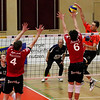 DenizBank AG Volley League Men 2017/18 SG VCA Amstetten NÖ/hotVolleys - SG Union Raiffeisen Waldviertel