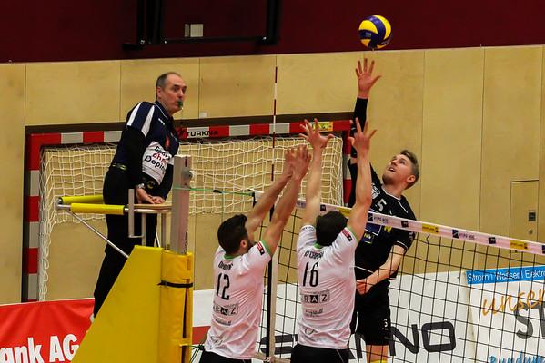 DenizBank AG Volley League Men 2017/18 SG VCA Amstetten NÖ/hotVolleys - UVC Holding Graz