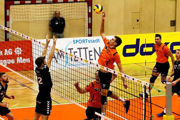 2018-19 DenizBank AG Volley League Men: SG VCA Amstetten NÖ gg. SG Union Raiffeisen Waldviertel