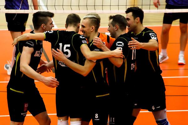 2018-19 DenizBank AG Volley League Men: SG VCA Amstetten NÖ gg. VBC TLC Weiz