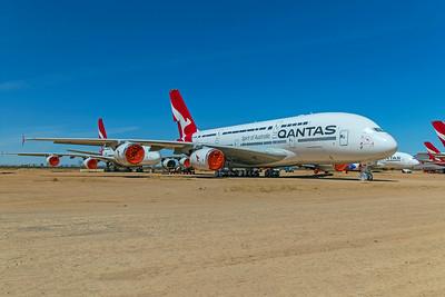 Qantas Airbus A380-842 VH-OQG 4-30-21 2