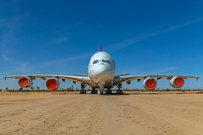 Qantas Airbus A380-842 VH-OQH 4-30-21 3