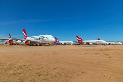 Qantas Airbus A380-842 VH-OQG 4-30-21