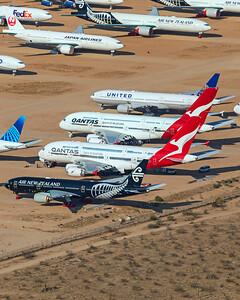 Air New Zealand Boeing 777-219(ER) ZK-OKH 8-13-21 2