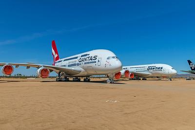 Qantas Airbus A380-842 VH-OQJ 4-30-21 2