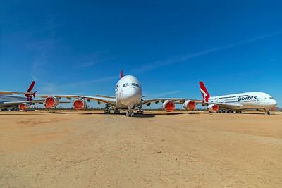 Qantas Airbus A380-842 VH-OQJ 4-30-21