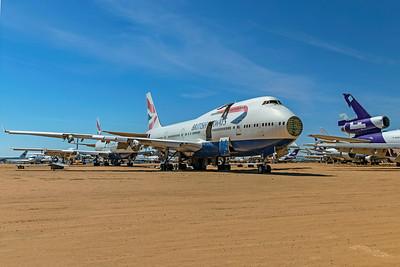 British Airways Boeing 747-436 G-BNLE 4-30-21 4