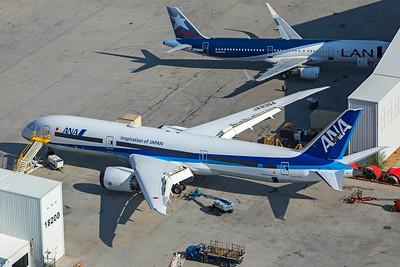 All Nippon Airways Boeing 787-9 N882BA JA-936A 8-13-21