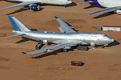 United Airlines Boeing 747-422 8-13-21