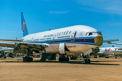 China Southern Airlines Boeing 777-21B B‑2053 N837BC 4-30-21