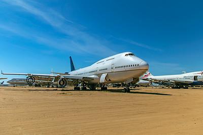 United Airlines Boeing 747-422 N199UA 4-30-21 4