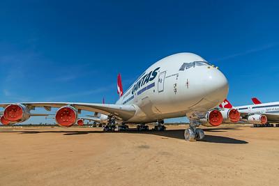 Qantas Airbus A380-842 VH-OQE 4-30-21
