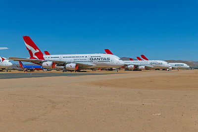 Qantas Airbus A380-842 VH-OQG 4-30-21 3