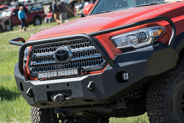 Overland Expo WEST - 3rd Generation Toyota Tacoma Bumper